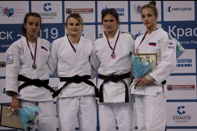 Две медали завоевали дзюдоисты Приангарья на первенстве России среди юниоров и юниорок до 21 года
